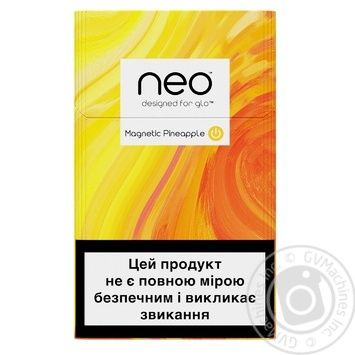 Стіки тютюнові GLO Neo Demi Magnetic Pineapple