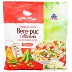 Суміш овочева Рудь Веге-рис з овочами 400г