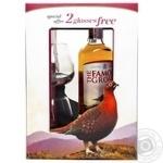 The Famous Grouse Whiskey 40% 0.7l + Glasses 2pcs.