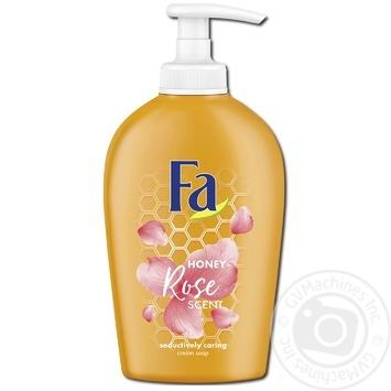 Мыло жидкое Fa Honey Аромат Белой Гардении 250мл