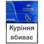Parker&Simpson Blue Cigarettes 25pcs
