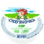 Сир кисломолочний Слов'яночка Домашній нежирний 180г