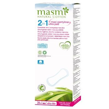Ежедневные прокладки Masmi Ultra Thin 2в1 24шт - купить, цены на Восторг - фото 1