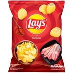 Чипсы картофельные Lay's со вкусом бекона 71г