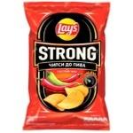 Чипсы Lay's Strong к пиву со вкусом чили и лайма 120г