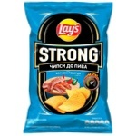 Lay's Strong Fire Ribs Flavored Potato Chips 120g