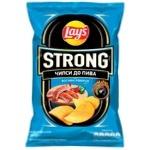 Чипсы картофельные Lay's Strong со вкусом огненных ребер 120г