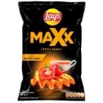 Чіпси картопляні Lay's Max зі смаком сальси 120г