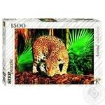 Пазлы 1500 Леопард