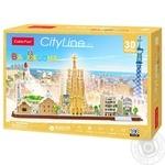 Конструктор-головоломка City Line Barcelona