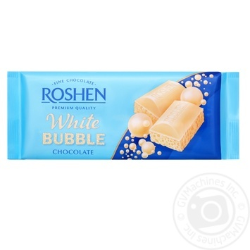 Шоколад Roshen белый пористый 80г - купить, цены на Восторг - фото 1