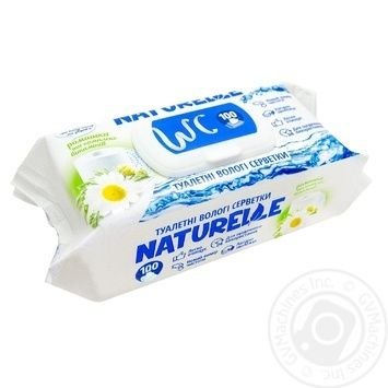 Naturelle Chamomile Wet Toilte Paper 100pcs