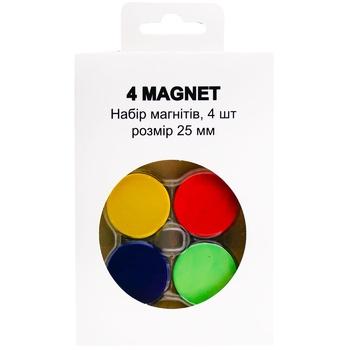 Набор магнитов ID 4шт - купить, цены на Метро - фото 1
