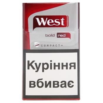 Сигареты West Компакт Ред - купить, цены на Фуршет - фото 2