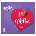Milka Chocolate Candies with Nut Filling 110g