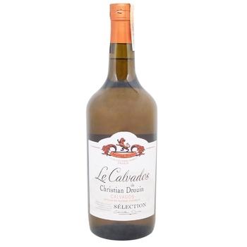 Christian Drouin Selection Calvados 40% 0,7l - buy, prices for CityMarket - photo 1