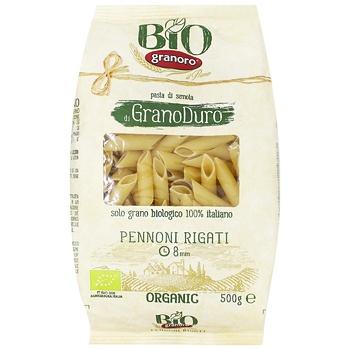 Макаронные изделия Granoro Био Пенноти Ригати из твердых сортов пшеницы 500г - купить, цены на СитиМаркет - фото 1