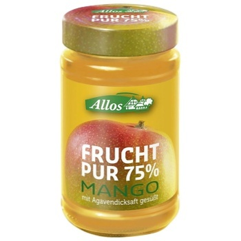Джем Allos Манго 250г - купити, ціни на CітіМаркет - фото 1