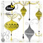 Серветки столові Silken НР Вінтажні прикраси 33х33см 16шт