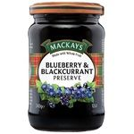 Mackays Blueberry & Blackberry Jam 340g