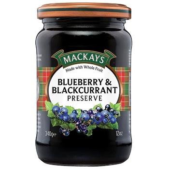 Джем Mackays Шотландский черная смородина 340г - купить, цены на СитиМаркет - фото 1