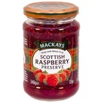 Mackays Scottish Raspberry Jam 340g