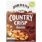 Crunches Jordans with chocolate 500g cardboard packaging