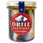 Conservas Ortiz Sardines in Olive Oil 190g