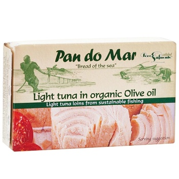Fish tuna Pan do mar in olive oil 120g can - buy, prices for CityMarket - photo 1