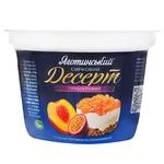 Десерт Яготинское творожный трехслойный злаки-персик 3,6% 200г