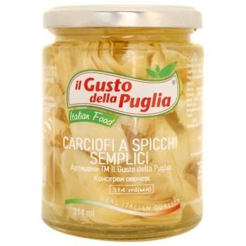 Артишоки Il Gusto della Puglia 314мл - купити, ціни на CітіМаркет - фото 1