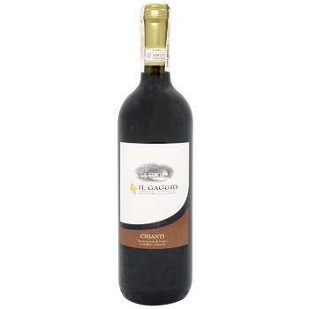 Вино Il Gaggio Chianti красное сухое 12% 0,75л