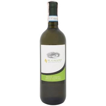 Вино Il Gaggio Pinot Grigio белое сухое 12% 0,75л
