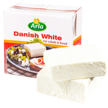 Продукт Arla Danish White сирний 60% ваг - купить, цены на СитиМаркет - фото 1