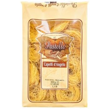 Макароны Donna Chiara Capelli Angelo твердых сортов пшеницы 500г - купить, цены на СитиМаркет - фото 1