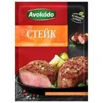 Приправа Avokado для стейков с зеленым и розовым перцем 25г