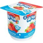 Agusha Strawberry Flavored Cottage Cheese for Babies from 8 Months 3,9% 100g