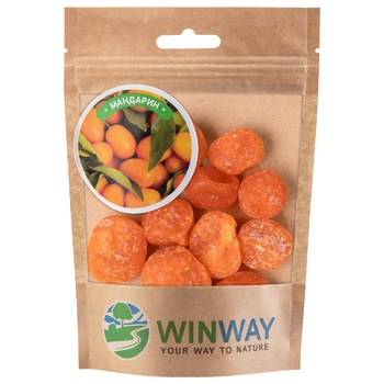 Мандарин Winway сушеный 100г - купить, цены на СитиМаркет - фото 1