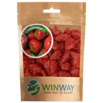 Полуниця Winway сушена 100г - купити, ціни на CітіМаркет - фото 1