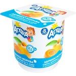 Сирок Агуша абрикос-морква для дітей з 8 місяців 3,9% 100г