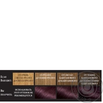 L'Oreal Recital Preference 5.26 Cold Purple Chestnut Hair Color - buy, prices for Novus - image 2