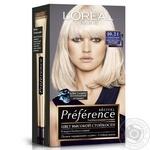 Краска для волос L'Oreal Recital Preference 10.21 Стокгольм светло-светло-русый перламутровый осветляющий - купить, цены на Novus - фото 1