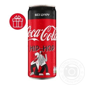 Coca-Cola Zero Strongly Carbonated Drink 0,33l - buy, prices for Novus - image 1