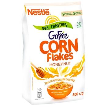 Готовий сухий сніданок NESTLÉ® HONEY NUT CORN FLAKES без глютену 500г - купити, ціни на Novus - фото 1