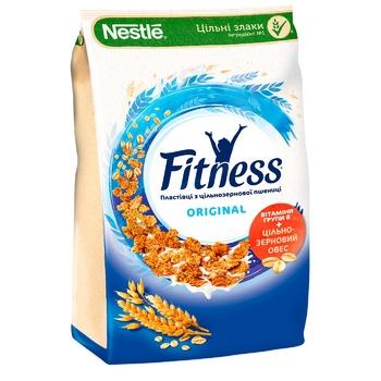 Готовий сухий сніданок NESTLÉ® FITNESS® Original з цільної пшениці 420г - купити, ціни на МегаМаркет - фото 1
