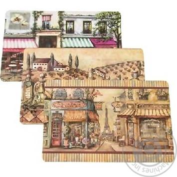 Салфетка Романтика 43х28см 260685 - купить, цены на МегаМаркет - фото 2