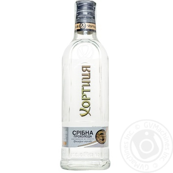 Khortytsia Vodka Silver cool 40% 375ml - buy, prices for CityMarket - photo 1