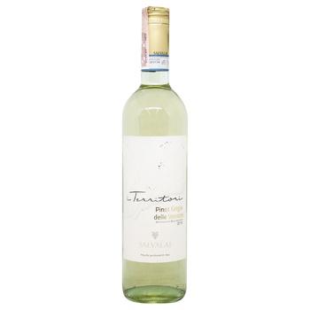 Вино Pinot Grigio delle Venezie IGT Salvalai біле сухе 12.5% 0,75л - купити, ціни на МегаМаркет - фото 1