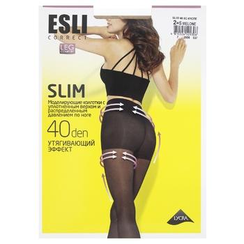 Esli Women's Tights E Slim 40den New s.2 Melone - buy, prices for CityMarket - photo 1
