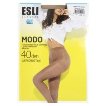 Колготки Esli женские E Modo 40den New р.2 Melone - купить, цены на СитиМаркет - фото 1